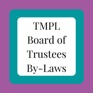 TMPL Board of Trustees By-Laws