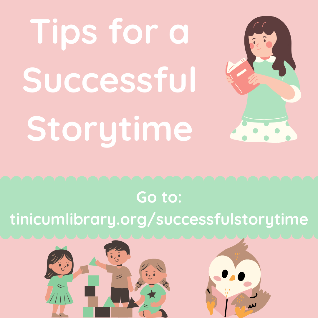 Tips for a Successful Storytime